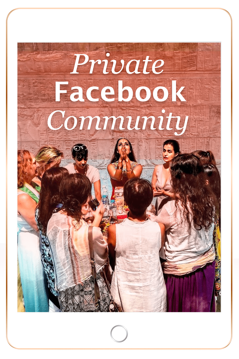 Private facebook community