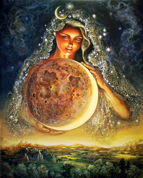 Full moon goddess ritual