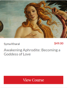 Aphrodite Goddess course
