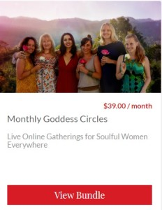 Goddess circles