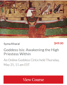Goddess Isis course