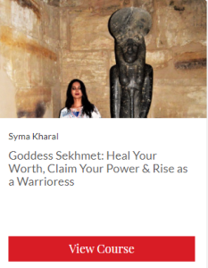 goddess Sekhmet course