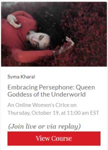 Persephone course