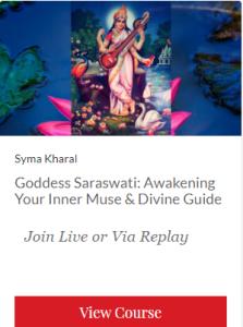 Goddess Saraswati course