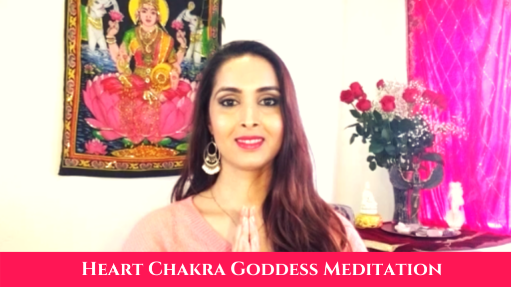 heart chakra meditation with goddesses
