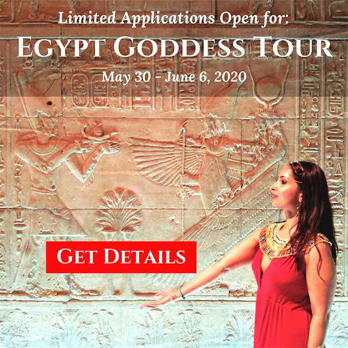Egypt Goddess Tour